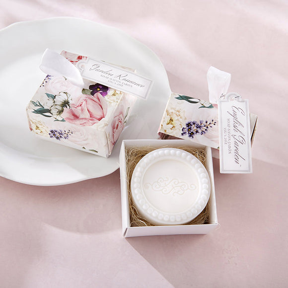 English Garden Soap In Floral Box - InCasaGifts