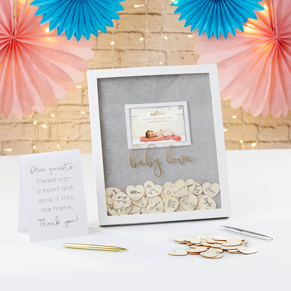 Baby Shower Guest Book Alternative - Frame - InCasaGifts