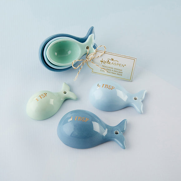 Whale Shaped Ceramic Measuring Spoons - InCasaGifts