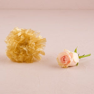 Just Fluff Colored Plastic Poms Package of 25 Poms Black
