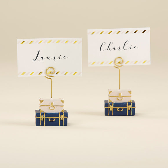 Suitcase Place Card Holder (Set of 6) - InCasaGifts