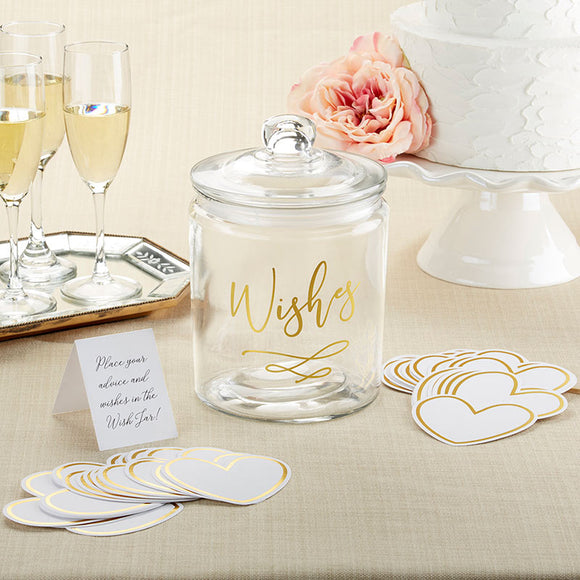 Wish Jar with Heart Shaped Cards - InCasaGifts