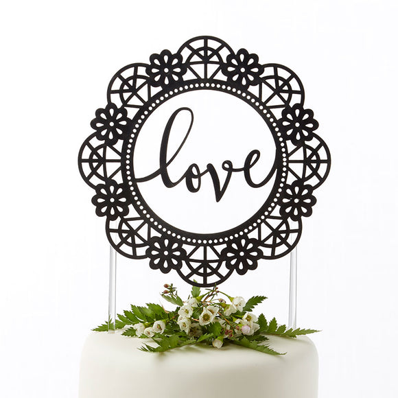 Love Lasercut Cake Topper - InCasaGifts