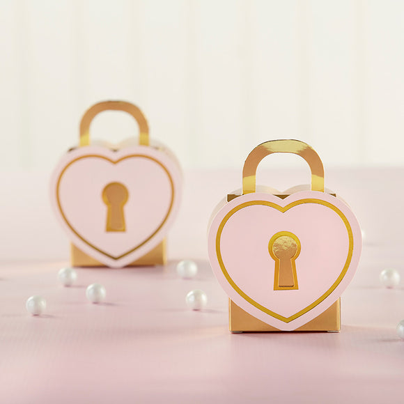 Love Lock Favor Box (Set of 12) - InCasaGifts