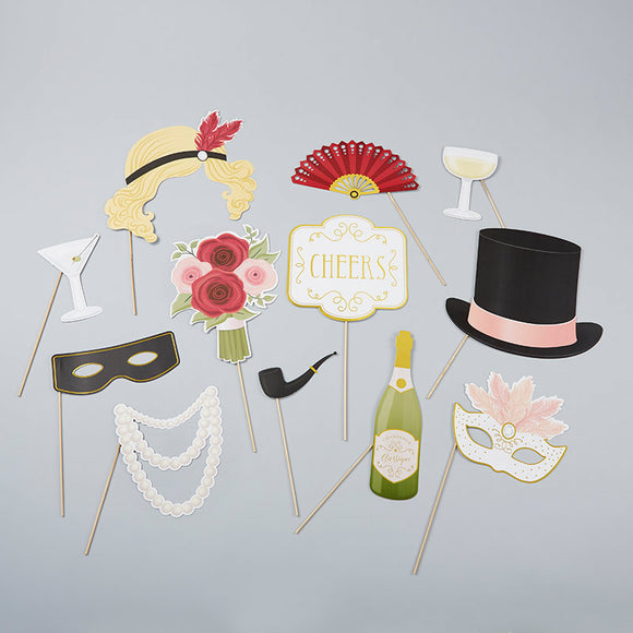 Vintage Deco Photo Props Kit - InCasaGifts