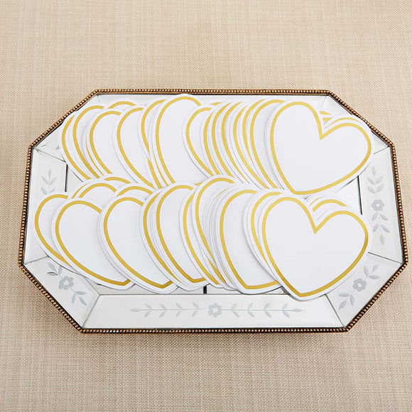Heart Shaped Cards for Wish Jar (Set of 50) - InCasaGifts