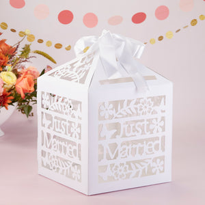 Just Married Birdcage Card Box - InCasaGifts