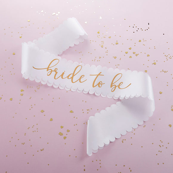 Bride To Be Satin Sash - InCasaGifts