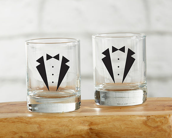 Tuxedo 2 oz. Shot Glass (Set of 4) - InCasaGifts