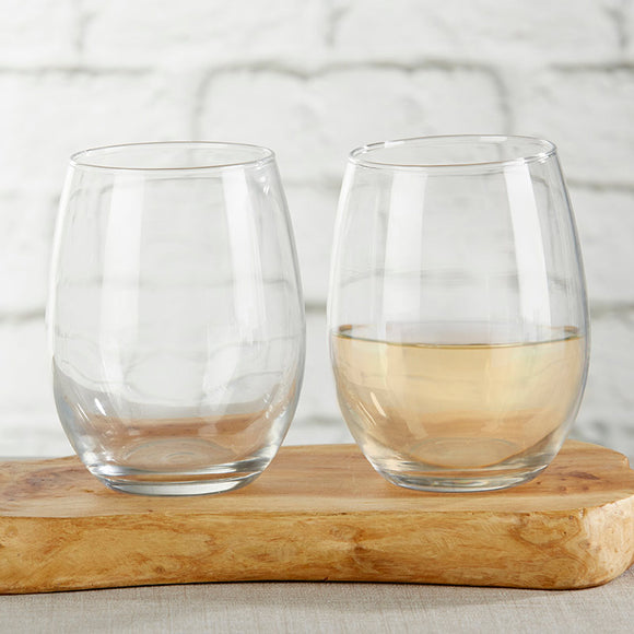 9 oz. Stemless Wine Glass - DIY - InCasaGifts