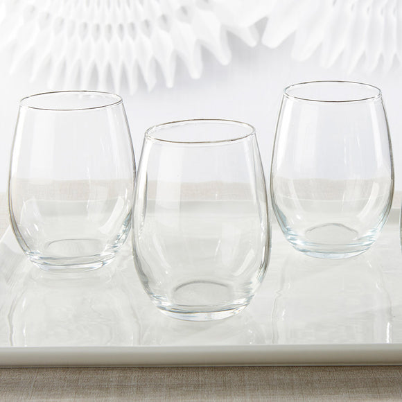 15 oz. Stemless Wine Glass - DIY - InCasaGifts
