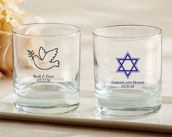 Personalized 9 oz. Rocks Glass - Religious - InCasaGifts
