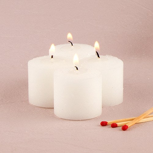 Decor Votive Candles Ivory