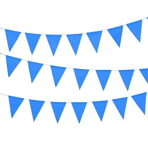 Paper Pennant Banner - Royal Blue - InCasaGifts