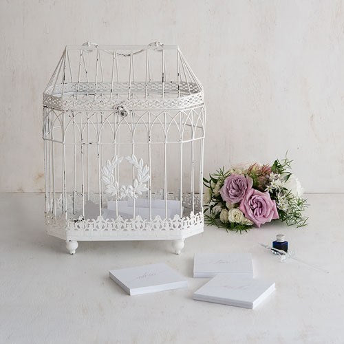 Metal Bird Cage - Conservatory Style