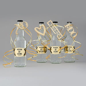 Gold CHEERS Bottle Opener Wedding Favor - InCasaGifts