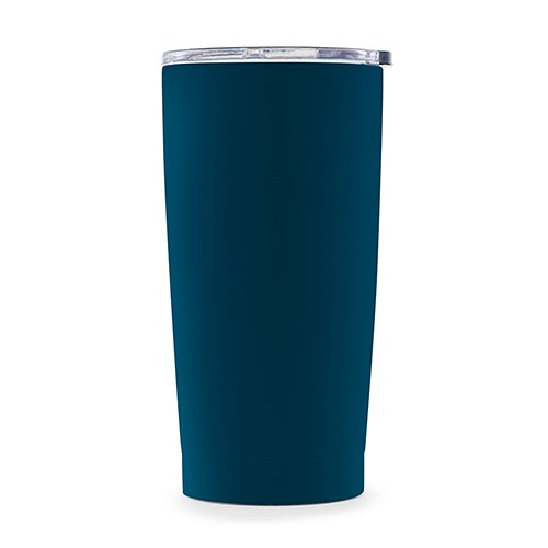 Stainless Steel Insulated Travel Mug – Plain Navy Blue - InCasaGifts