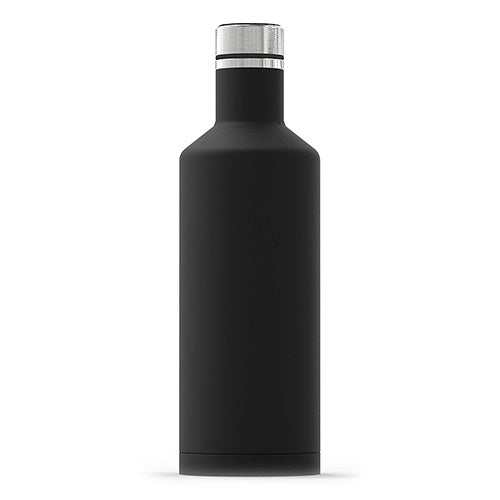 Stainless Steel Insulated Water Bottle – Plain Black
