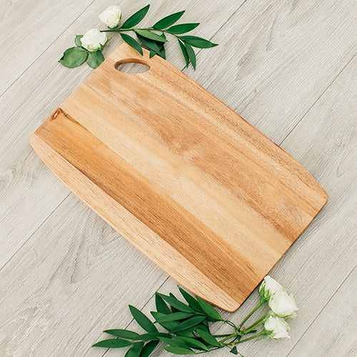 Wooden Rounded Rectangle Cutting & Serving Board - InCasaGifts
