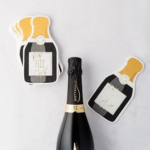 Cute Special Occasion Paper Party Napkin - Champagne Bottle - InCasaGifts