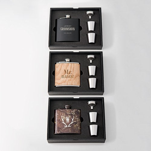 Gift Box Set for Hip Flask - InCasaGifts
