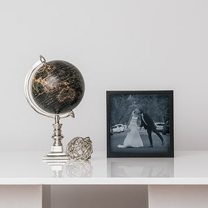 Square Picture Frame - Black