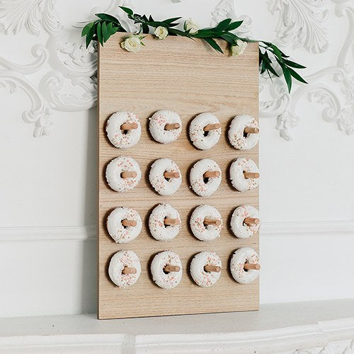 Wooden Donut Wall Display - Blank - InCasaGifts