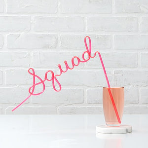 Bachelorette Party Silly Straw - Squad - InCasaGifts