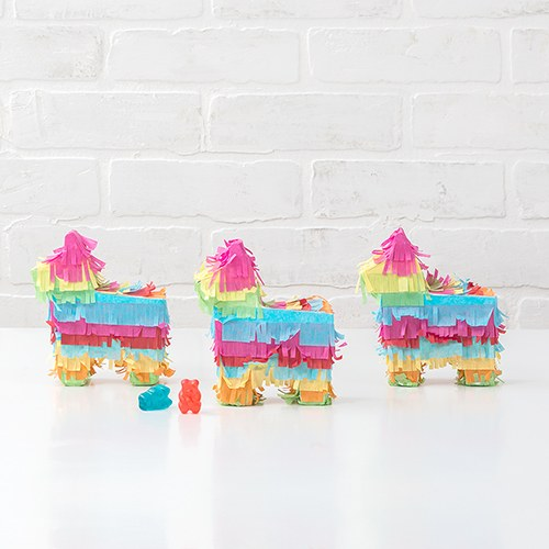 Mini Piñata Favor Box - Fiesta Donkey - InCasaGifts