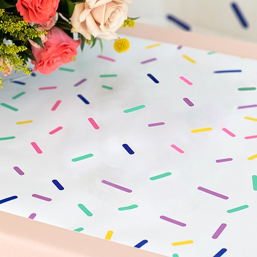 Decorative Paper Table Runner - Sprinkles - InCasaGifts