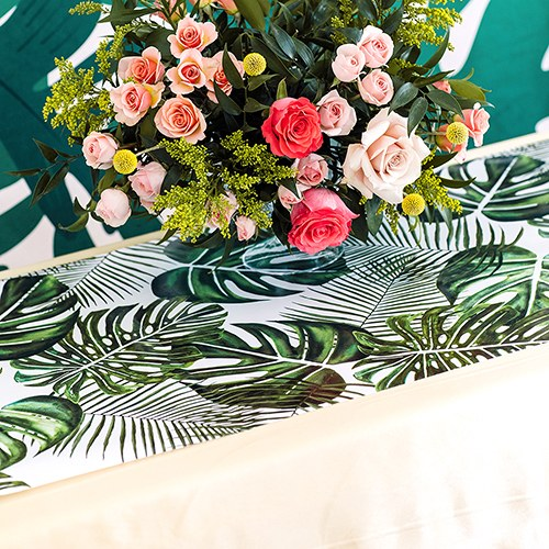Decorative Paper Table Runner - Monstera Leaf - InCasaGifts