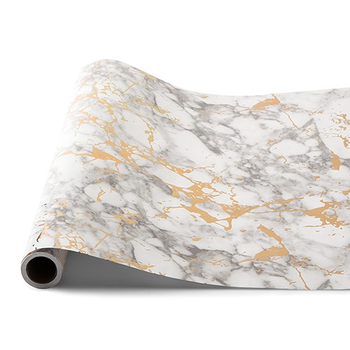 Decorative Paper Table Runner - Marble