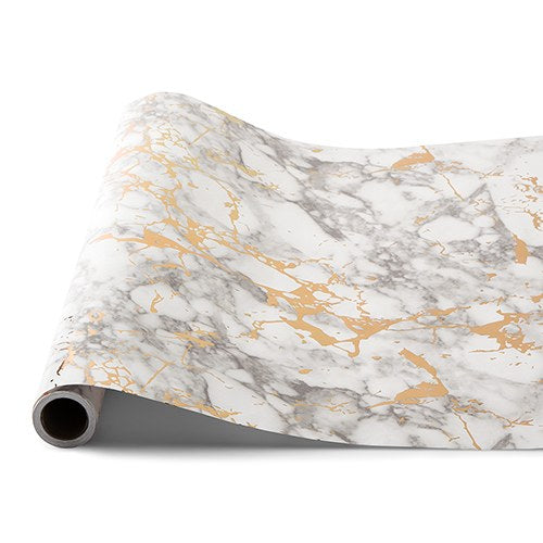 Decorative Paper Table Runner - Marble - InCasaGifts