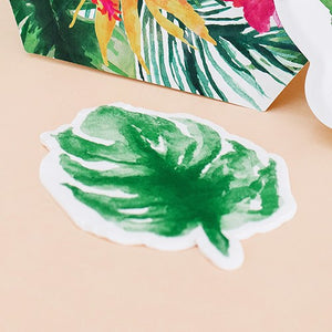 Cute Special Occasion Paper Party Napkins - Monstera Leaf - Set of 20 - InCasaGifts