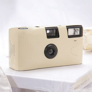 Disposable Camera with Flash - Ivory - InCasaGifts