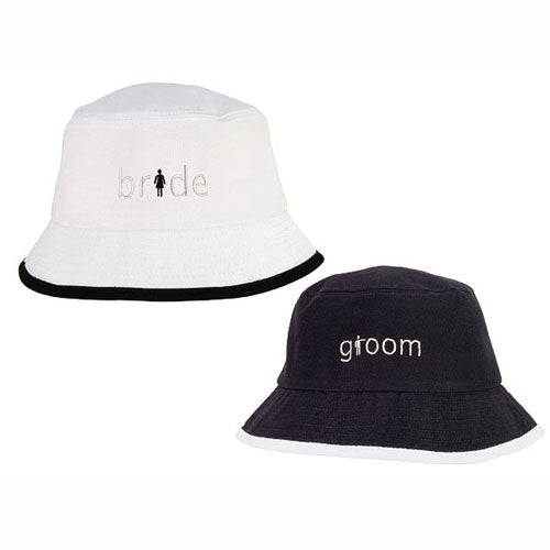 Brushed Cotton Twill Crusher Hat Bride White