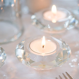 Crystal Tealight Holders (6)