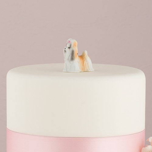 Miniature Shih Tzu Dog Figurines