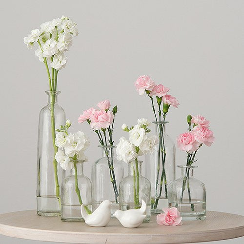 Decorating Glass Bottle Set - Clear - InCasaGifts