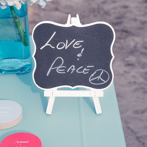 Chalkboard Signs With White Frame - Medium White