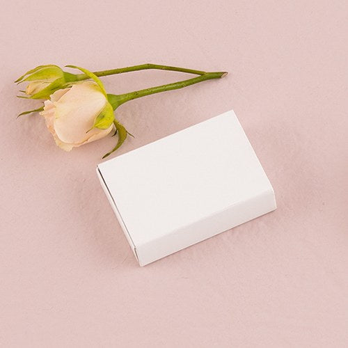 White Drawer-Style Paper Favor Box (8)