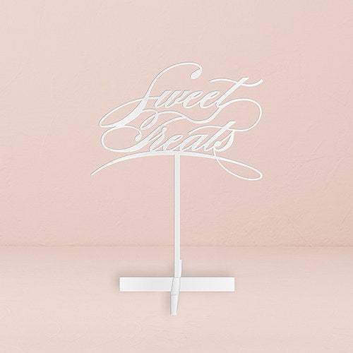 Sweet Treats Acrylic Sign - White - InCasaGifts