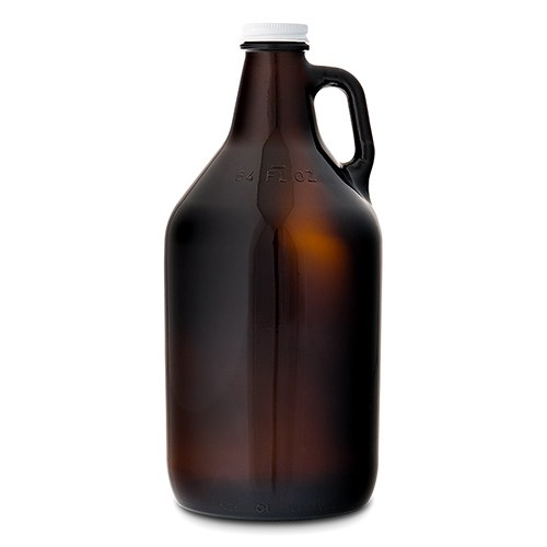 Amber Glass Beer Growler Bar Accessory - InCasaGifts