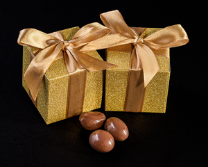 All that Glitters Gold Favour Boxes (Set of 24) - InCasaGifts