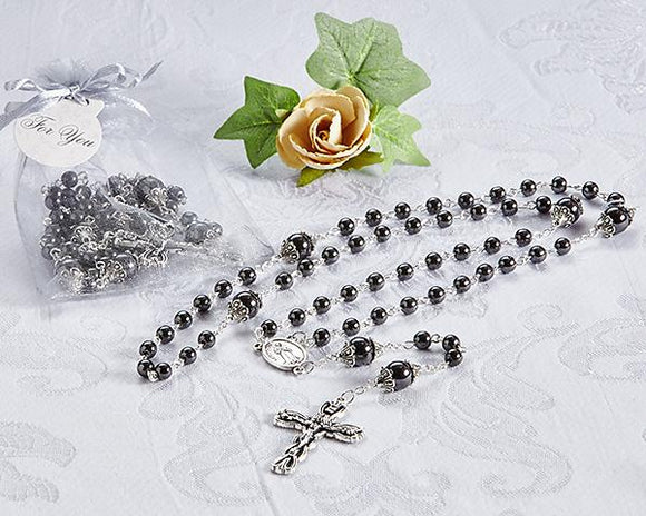 Necklace Hematite Rosary - InCasaGifts