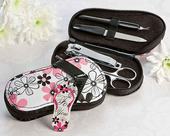 Flirty Flip Flop Pedicure Set Favor