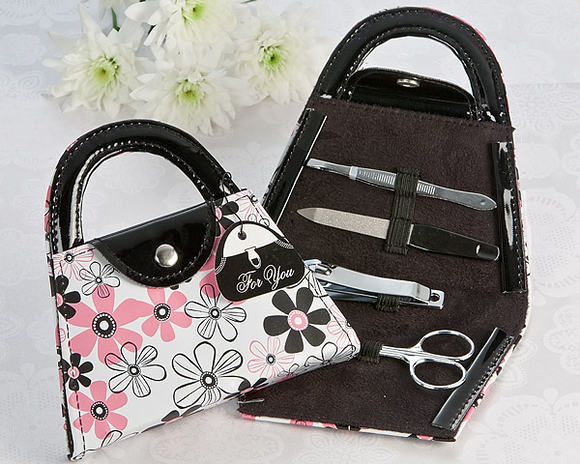 Perfectly Polished Purse Manicure Set Favor