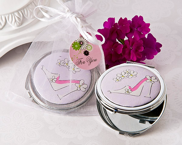 Sassy Stiletto High Heel Compact Mirror Favor Favor
