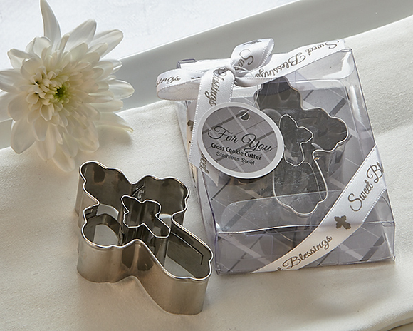Sweet Blessings Cross Cookie Cutters Favor - InCasaGifts