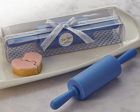 Something Blue' Rolling Pin Favor - CLOSEOUT PRICE! - InCasaGifts